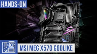 MSI MEG X570 Godlike Unboxing zum Ryzen 3000-Mainboard