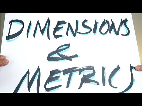 DIMENSIONS & METRICS + audience overview! - Google Analytics Basics Tutorial #2