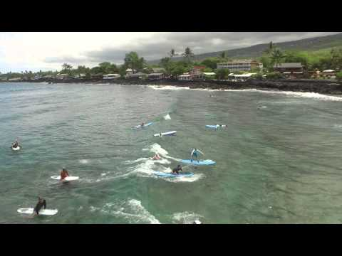 Surfing Lessons with Kona Surf School