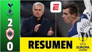 Tottenham 2-0 Antwerp. Gol de Giovani Lo Celso y Mourinho se queda con el grupo | Europa League
