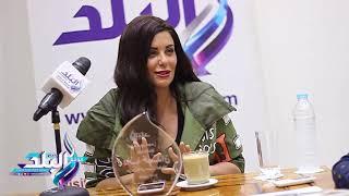 دانا حمدان لـ «صدى البلد»: أحمد السقا غول تمثيل.. فيديو وصور