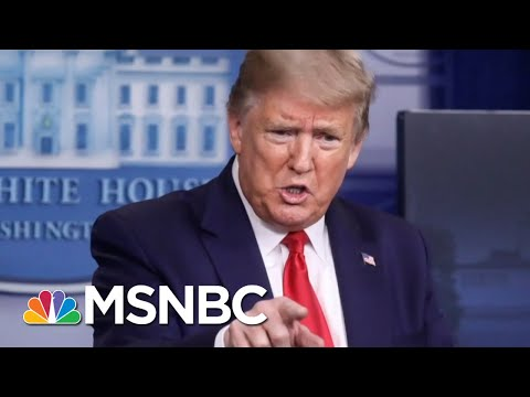 Trump's Airing Of Propaganda Video During Coronavirus Briefing Is 'Act Of Disinformation'   MSNBC