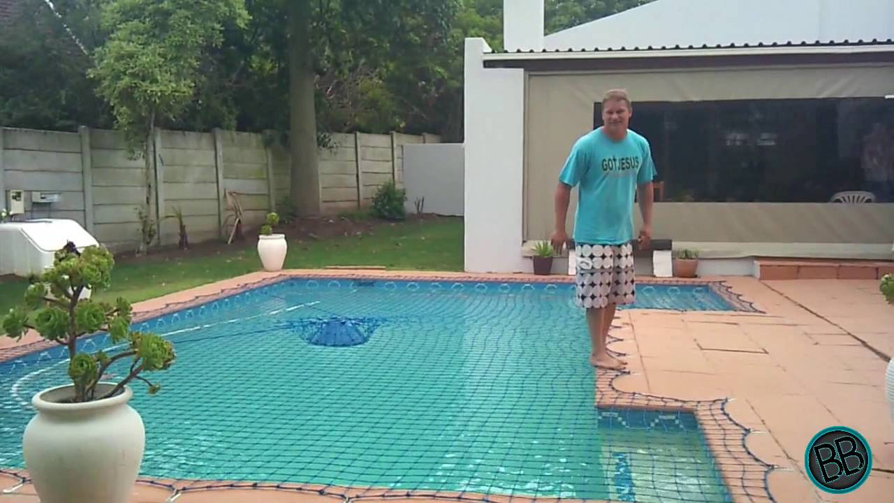 HOW TO - TEST A SWIMMIMG POOL SAFETY NET - YouTube