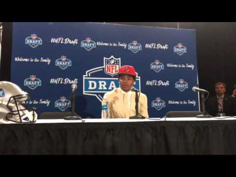 Vernon Hargreaves Tampa Bay Buccaneers 2016 NFL Draft 1st Round Pick Interview #NFLDraft