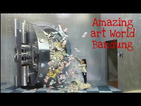 Amazing art World bandung museum 3d terbesar