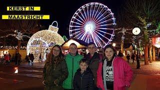 KERSTMARKT MAASTRICHT , MAGISCH MAASTRICHT - Familie Vloggers #88