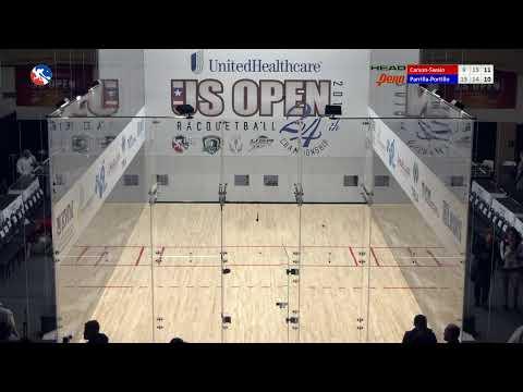 2019 US OPEN: Doubles Qualifying: Cliff Swain/Rocky Carson Vs. Andree Parrilla/Eduardo Portillo