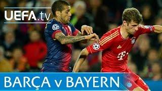 Robben, Messi, Effenberg - Classic Barcelona v Bayern goals