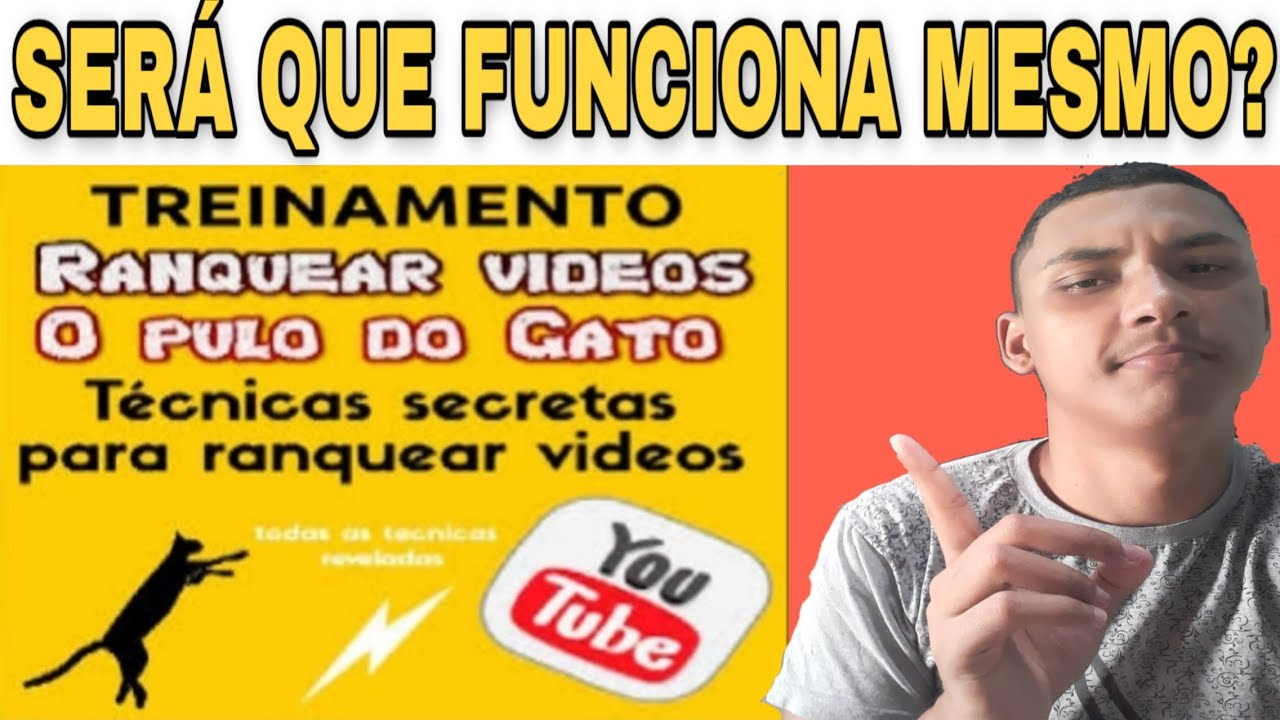Curso Erivelton Ranqueamento de Videos No Youtube o Pulo do Gato  Funciona ? Ranquear em 24 horas
