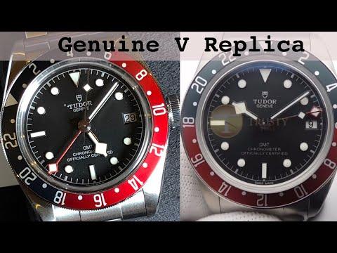 Tudor GMT replica versus genuine  - Just as good at 90% less?