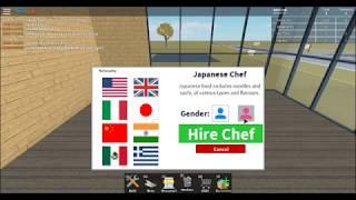 Das Restaurant!! [Roblox Restaurant Tycoon] Indonesisch