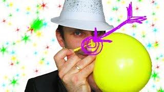 Как завязывать шарики ★ How to tie balloons