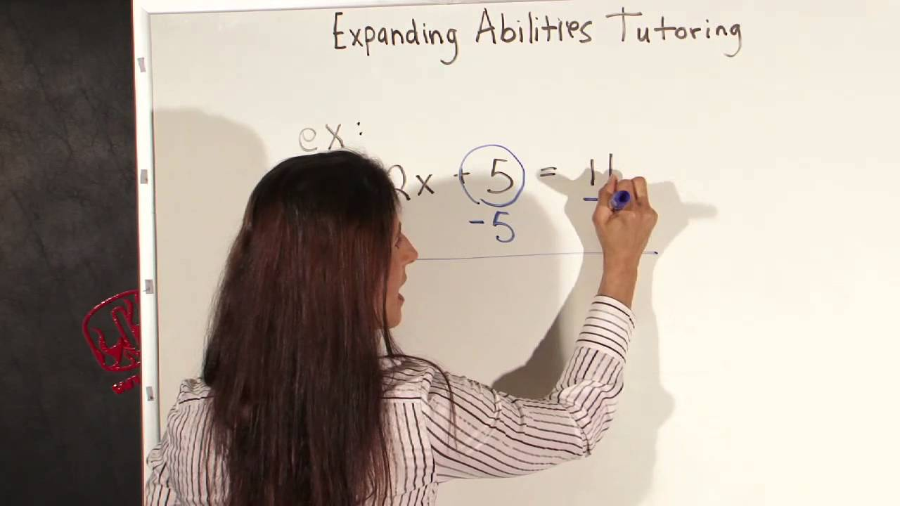 Simple Rules for Solving Algebraic Equations for Kids - YouTube
