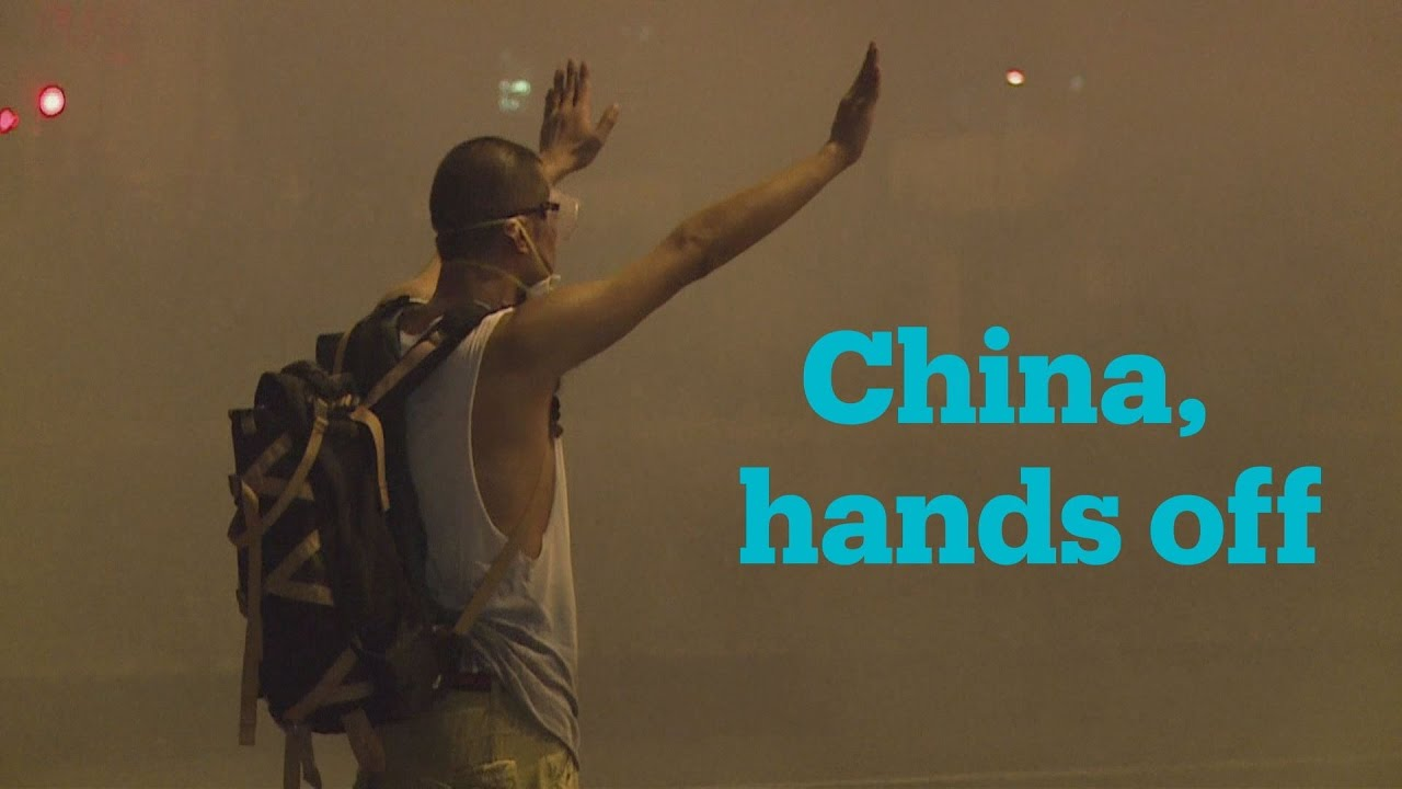 China lays down the Law, Hong Kong revolts