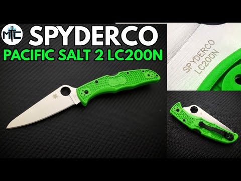Spyderco Pacific Salt 2 LC200N Folding Knife – Overview and Review