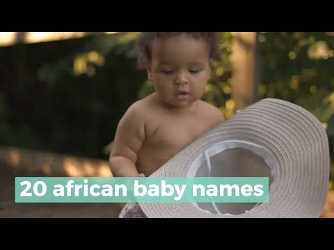 20 African Baby Names