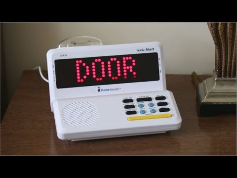 Sonic Alert Homeaware Alerting System For The Deaf And
