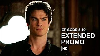 The Vampire Diaries 5x19 Extended Promo - Man on Fire [HD]