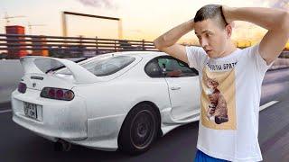 Уникальная Toyota Supra V12. Такую Вы не видели Оживляем