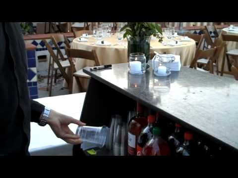 Private Party Bartending Wedding Set Up Tips & Tricks