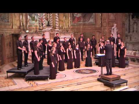 i thank You God for most this amazing day (Eric Whitacre) - Trinity College Choir, USA Tour 2015