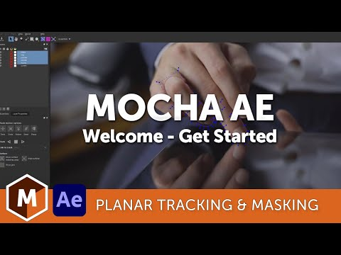 Welcome to Mocha AE- planar tracking bundled in Adobe After Effects