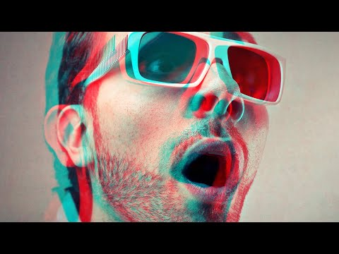 Easy Photoshop 3D Effect In 30 Seconds | 3D Glasses Effect