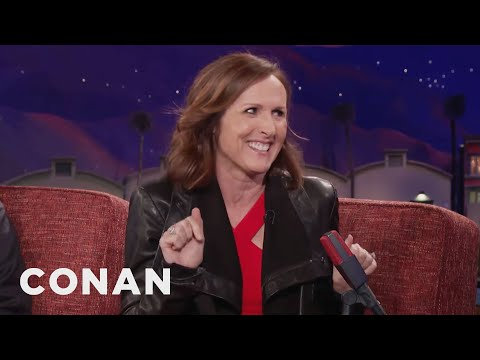 Molly Shannon: Heather Graham Wants To Date Conan   CONAN on TBS