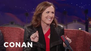 Molly Shannon: Heather Graham Wants To Date Conan  - CONAN on TBS