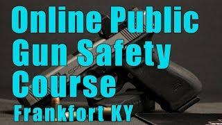 Online Public Gun Safety Course-Online Public Handgun Safety C…