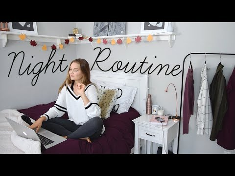 After-School Fall Night Routine 2017