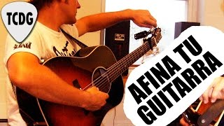 Como Afinar Una Guitarra De Oído Súper Fácil! por Mario Freiria TCDG