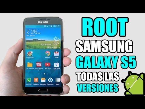 Root Samsung Galaxy S5 (Todas las Versiones) Fácil y Rápido