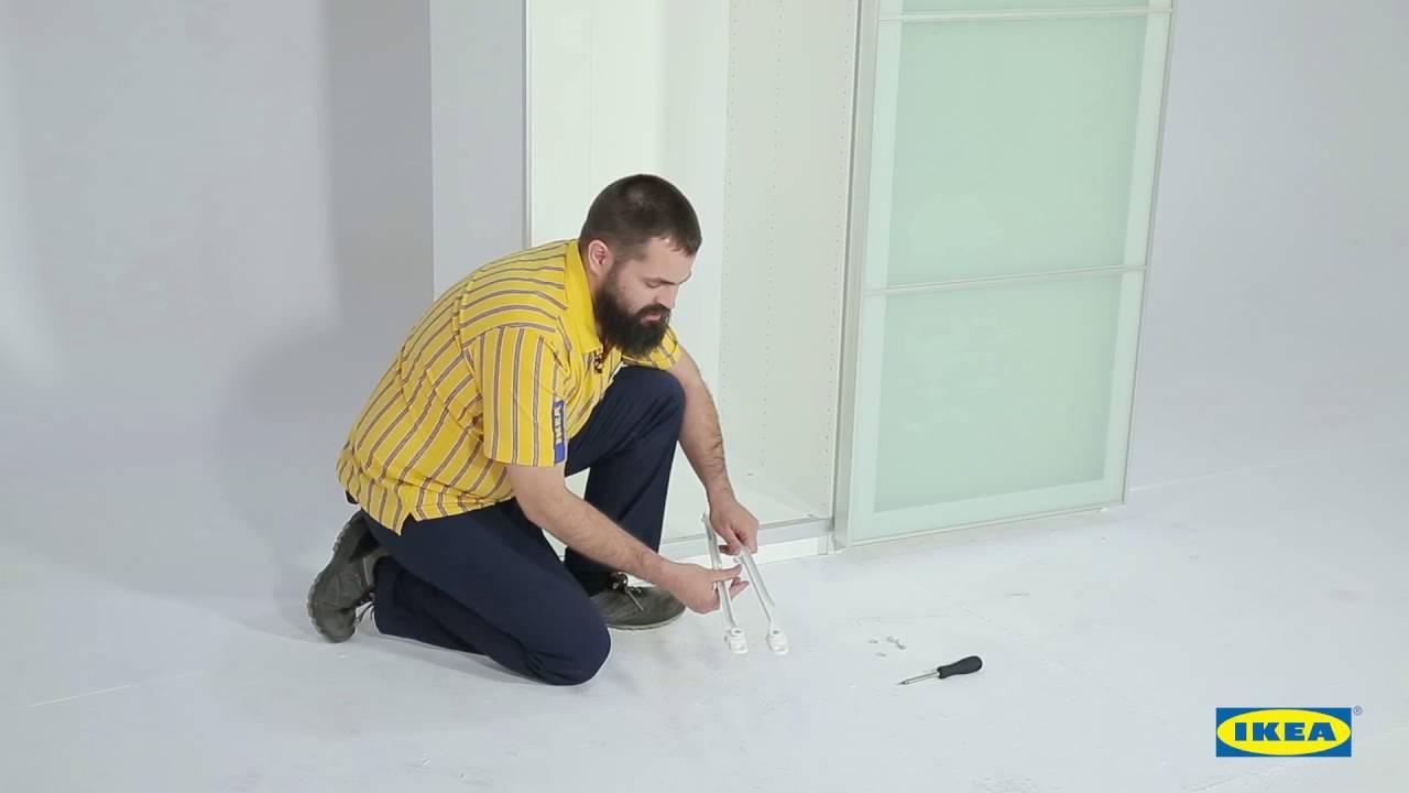 Instrucciones Montaje IKEA Cesto rejilla para Armario