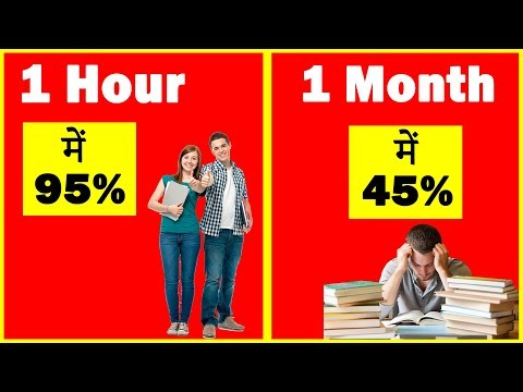 Top 10 Topper Mindset || पढने का सही तरीका, How To Study Effectively In Exam Time - [ Mind Power ]