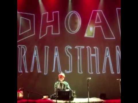 Sanjay Khan Leader singer DHOAD Gypsies From Rajasthan