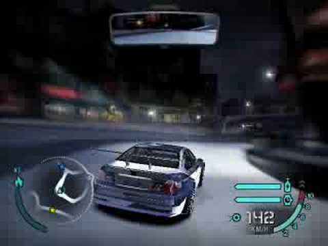 Need For Speed Carbon Bmw M3 Gtr Career Youtube