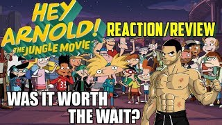 Hey Arnold the Jungle Movie REVIEW/ REACTION