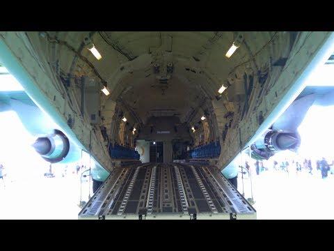 C‐2輸送機 配備後初の一般公開 美保基地航空祭2017