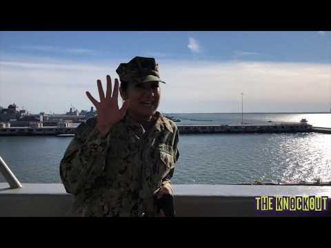 Navy Ship Rack/Berthing Tour