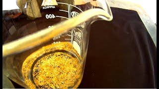HOW to Recover  GOLD  from Scrap  VERY EASY  With Household Chemicals - HD