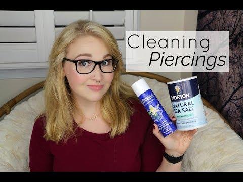 Cleaning Piercings WITH Sea Salt