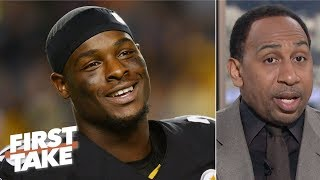 Le'Veon Bell's deal is a win for the Jets, but the Steelers are big losers - Stephen A. | First Take