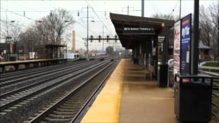 Northeast Corridor Action at North Elizabeth Featuring ACS-64 #602, Silver Meteor #97, and More!