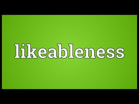 Header of likeableness