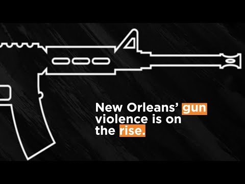New Orleans' gun violence: The 2017 rise by the numbers