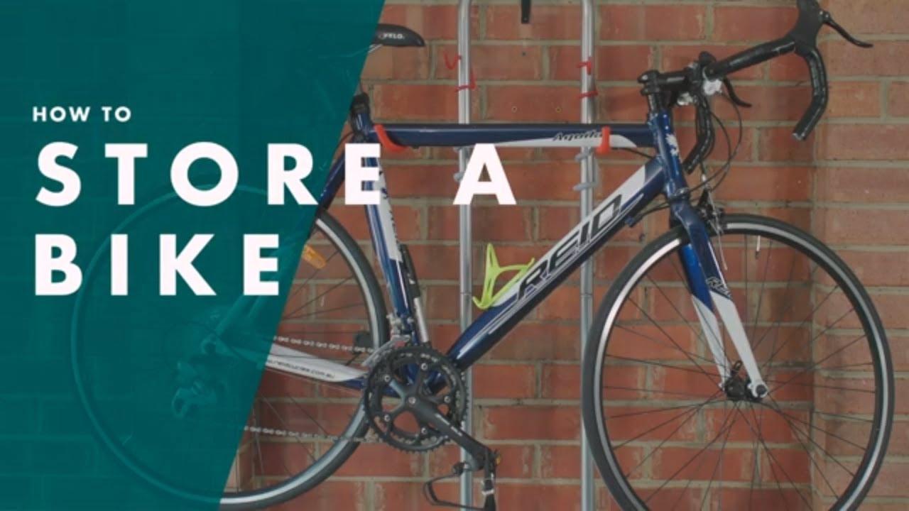 How To Store A Bike | Bunnings Warehouse