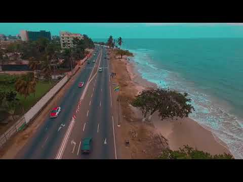 Estuaire Libreville Gabon by drone