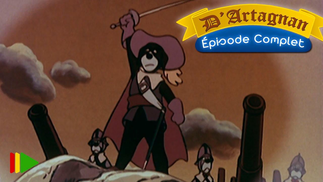 D'artagnan dessin animé episode 2