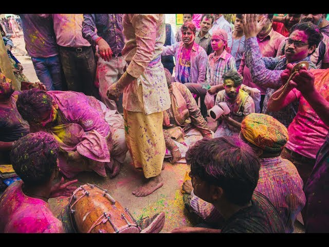 Holi Festival in India with Outex underwater photography camera housing